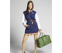 Scout Jersey Zipped Bomber Dress