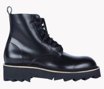 Brick Lace-up Boots