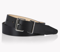 Sleek Leather Belt