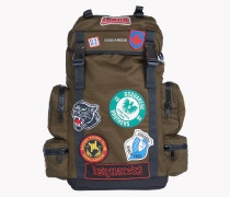 Military Patch Akira Backpack
