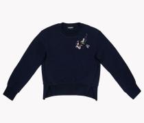 Sequin Embellished Sweatshirt