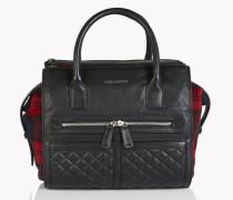 Twin Zip Hand Bag