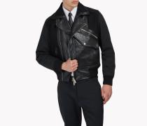 Pocket Biker Leather Jacket