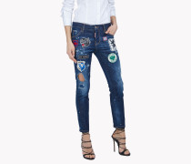 Patch Cool Girl Jeans