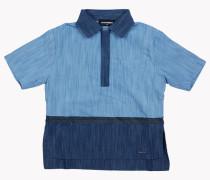 Denim Patchwork Hemd