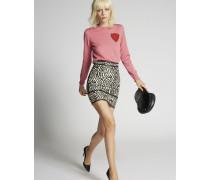 Cotton Safari Jacquard Skirt