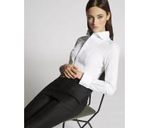 Stretch Popeline Hemd