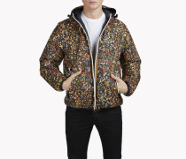 K-Way Floral Reversible Puffer Jacket