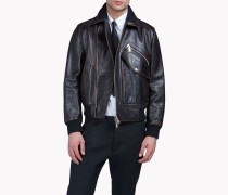 Leather Pocket Jacket