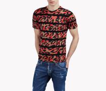 Camouflage Wool Knit Hemd