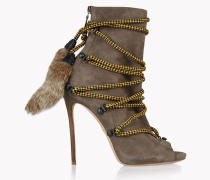 Fur Laced Riri Boots