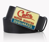 Caten Buckle Leather Belt