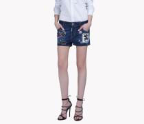Patch Mini Shorts
