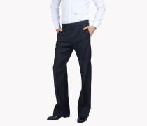 Flared Wool Silk Evening Pants