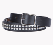 Stud Leather Belt