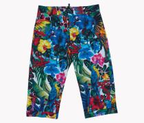 Tropical Floral Pants