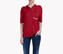 Pocket Knit Polo Hemd
