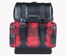 Buffalo Check Donald Backpack