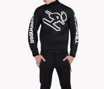 D2 Technical Ski Motif Sweatshirt
