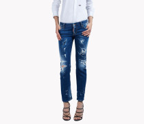 Flare Distressed Jeans
