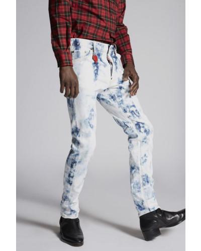 Shreaded Bleach Cool Guy Jeans