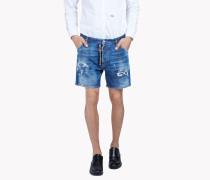 Dan Commando Denim Shorts