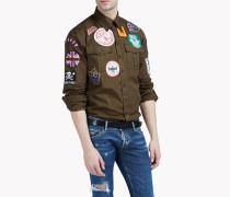 Military Patch Hemd