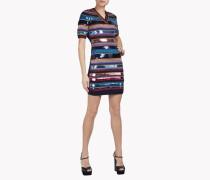 Knit Sequin Mini Dress