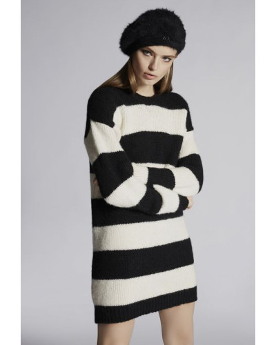 Striped Aplaca Dress