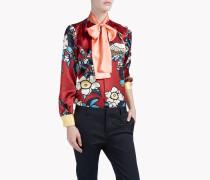 Cherry Blossom Silk Shirt
