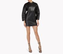 Leather Box Dress