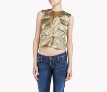 Military Lurex Top
