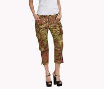 Embellished Camouflage Pants