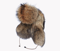 Iconic Racoon Fur Hat