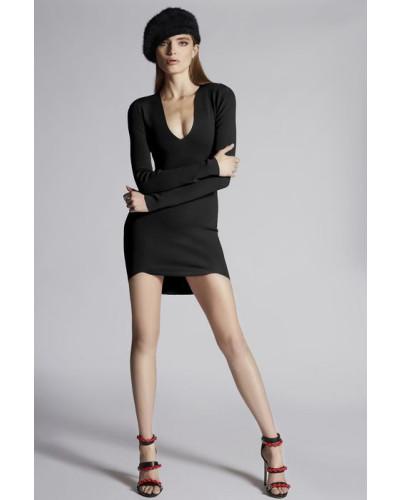 Viscose Long Sleeved Dress