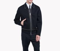 Studded Collared Jacket