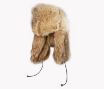 Oversize Fur Aviator Hat