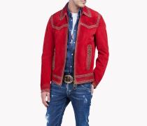 Western Suede Studded Jacket