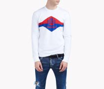 Printed Cotton-Jersey Long Sleeve T-Shirt