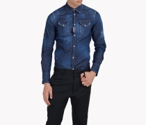 Western Denim Hemd