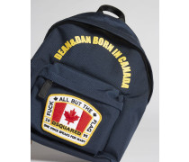 Canada Patch Backpack