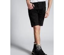 Long Mod Denim Shorts