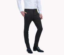Slim-Fit Wool Pants
