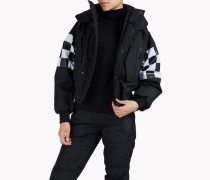 Technical Ski Damier Bomber Jacket