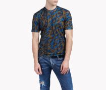 Camouflage Print T-Shirt