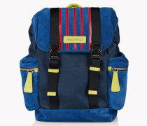 Suede Donald Backpack