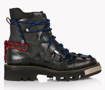 Techno Cord Combat Boots