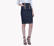 Livery Denim Skirt