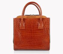 Croc-Effect Deana Handbag