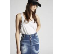 Light Pocket Shadow Mini Dalma Skirt